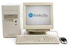 Reading Plus program on a desktop computer